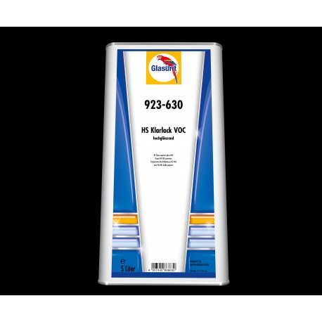 GLASURIT 923-630 HS SUPERIOR GLOSS CLEARCOAT 5L